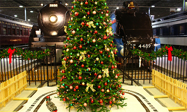 B - November 17, 2018 to January 7, 2018 - Railway Christmas, Exporail, the Canadian Railway Museum