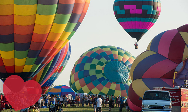 F - Saint-Jean-sur-Richelieu's International Balloon Festival
