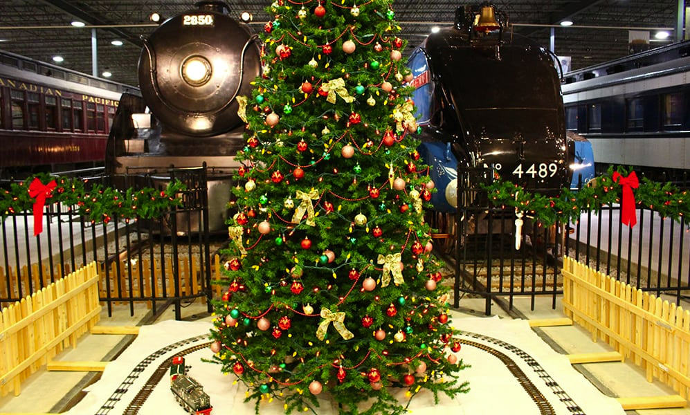 A - November 23 2018 to January 6 2019 - Railway Christmas, Exporail, the Canadian Railway Museum